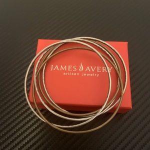 James Avery Cascading Bangles Bracelets Silver M